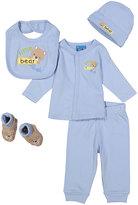 Sweet & Soft Blue Bear Five-Piece Layette Set - Infant