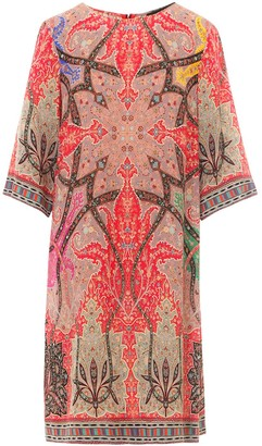 Etro Graphic Printed Shift Dress