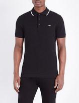 Burberry Tipped cotton-piqué polo shirt