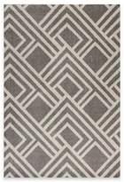 Kas Lucia Modeme Indoor/Outdoor 6-Foot 7-Inch x 9-Foot 6-Inch Area Rug in Grey