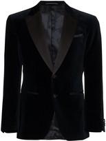 BOSS peaked lapel blazer