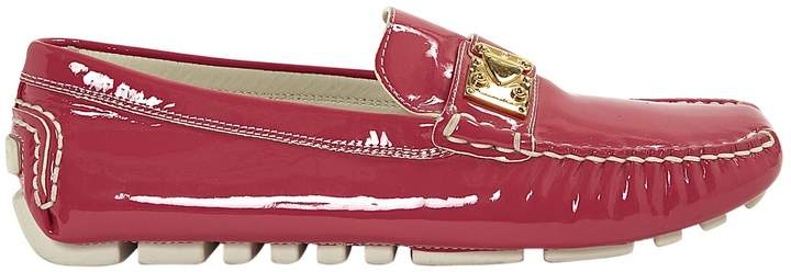Louis Vuitton Pink Patent leather Flats