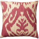 OKA Palau Silk Cushion Cover, Large - Red