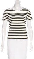 A.L.C. Striped Knit Top