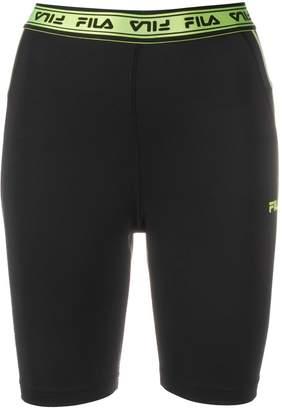 Fila Logo-Jacquard Cycling Shorts