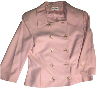 Georges Rech Pink Cotton Jacket for Women Vintage