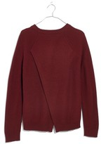 Madewell Women's Province Cross Back Knit Pullover