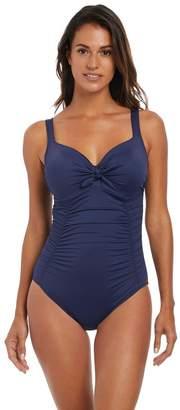 Fantasie Womens Navy Marseille Underwire Full Cup Swimsuit - Blue