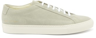 Common Projects Original Achilles Suede Trainers - Grey