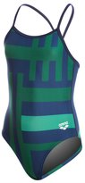 Arena Girl's Electron Light Drop Back One Piece Swimsuit 8136713