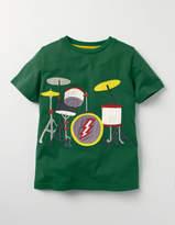 Boden Music Appliqué T-shirt