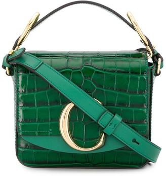 Chloé crocodile effect mini bag