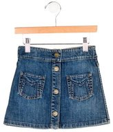 Little Marc Jacobs Girls' Denim Pocket Skirt