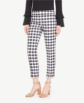 Ann Taylor The Petite Crop Pant in Gingham - Kate Fit