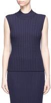 Rosetta Getty Rib knit sleeveless top
