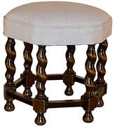 One Kings Lane Vintage 19th-C. Six-Sided Stool