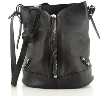 Balenciaga Papier Drop Bucket Bag Leather