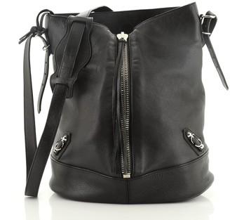 Balenciaga Papier Drop Bucket Bag Leather