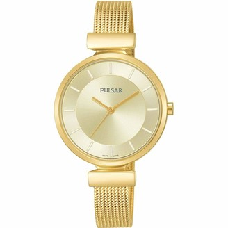 Pulsar Women's Analogue Analog Quartz Watch with Stainless Steel Strap PH8412X1