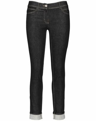 Taifun Women's 420018-19095 Straight Jeans