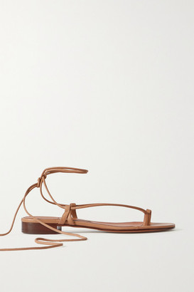 Emme Parsons Ava Leather Sandals - Beige