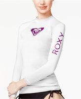 Roxy Long-Sleeve Logo Rashguard