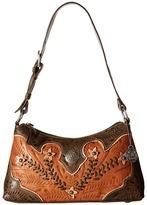 American West Desert Wildflower Shoulder Bag Shoulder Handbags