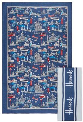 Harrods SW1 Tea Towels (Pack of 2)