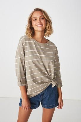 Cotton On Aimee Oversized Long Sleeve Top
