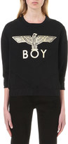 Boy London Eagle-print jersey sweatshirt