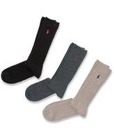 Polo Ralph Lauren Men's Socks, Big & Tall Singles Men's Socks