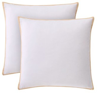 """French Connection Sham Cotton Floral 26"""" Euro Pillow Cover"""