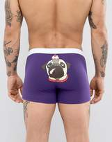 Asos Trunks With Cupcake Pug Print