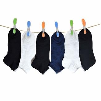 PETTI Artigiani Italiani Girl's 6 Paia Di Calzini Corto Bambina Femminuccia Ragazza 6 Pairs of Short Socks