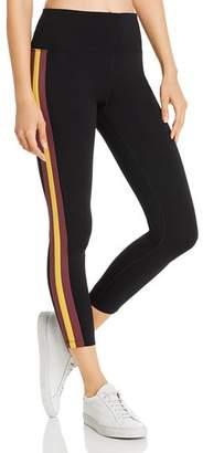 Calvin Klein Side-Stripe Ankle Leggings