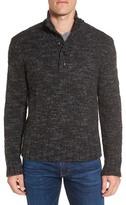 Grayers 'Jennings' Button Mock Neck Wool Blend Sweater