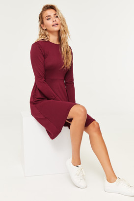 Ardene Long Sleeve Skater Dress