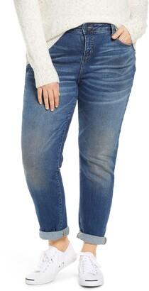 SLINK Jeans High Waist Boyfriend Jeans