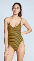 Les Girls, Les Boys Stripe Swimsuit One Piece