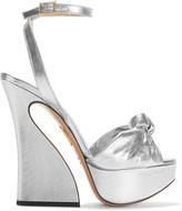 Charlotte Olympia Vreeland lamé platform sandals
