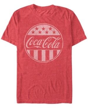Fifth Sun Men's Classic Stars and Stripes Logo Short Sleeve T- shirt