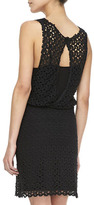 Free People Lace Keyhole-Back Dress