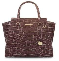 Brahmin Port Volition Priscilla Leather Satchel