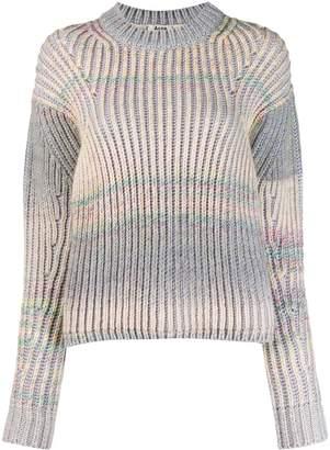 Acne Studios gradient knit sweater