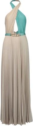 Elisabetta Franchi Celyn B. Long Jersey Bicolor Dress