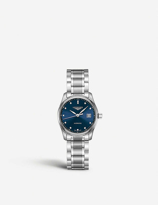 Longines L22574976 Master automatic stainless steel watch