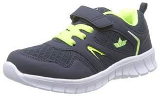 Lico Boys' Skip Vs Low-Top Sneakers, Blue Marine/Lemon, 2.5UK Child