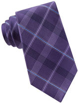 Michael Kors Plaid Silk Tie