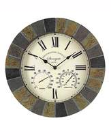 Fashion World Stonegate Wall Clock and Thermometer