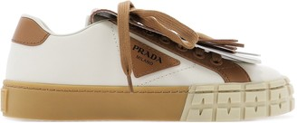 Prada Fringed Flap Sneakers